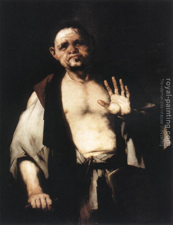 Luca Giordano : The Philosopher Cratetes